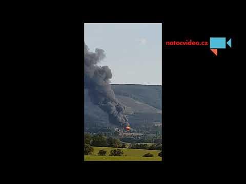 Požár Čepro - Loukov na kroměřížsku