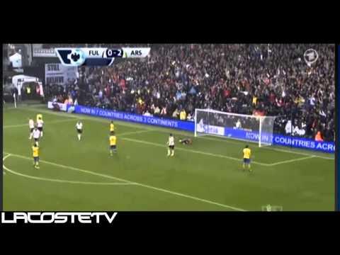 Fulham vs Arsenal 3-1 All Goals & Highlights 24.8.2013 HD