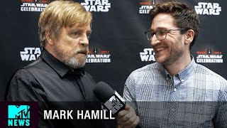 Video Mark Hamill on 'Star Wars: The Last Jedi' & 'The Empire Strikes Back' | MTV News MP3, 3GP, MP4, WEBM, AVI, FLV Juni 2018