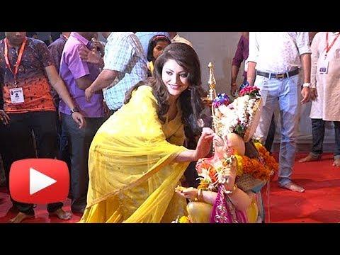 Urvashi Rautela Seeks Blessings Of Lord Ganesh, Ga