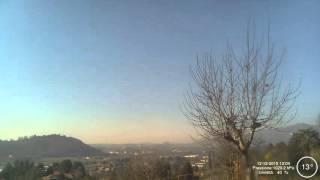 Oggiono Webcam timelapse 12-12-2015