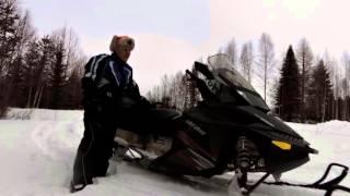 9. Ski-doo Grand Touring Sport 550f vm.2010