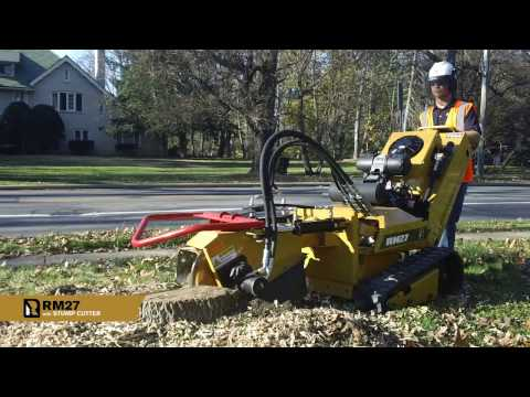 RM27 with Stump Cutter