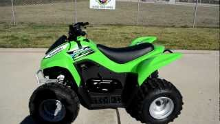 2. Review: 2012 Kawasaki KFX90 Youth ATV