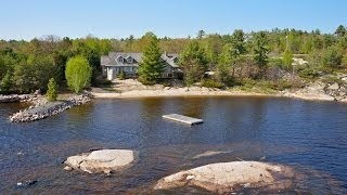 Parry Sound (ON) Canada  city photo : Magnificent Waterfront Home in Parry Sound, Canada