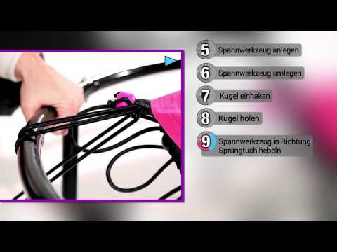 Powermaxx Trampolin - Aufbauvideo - präsentiert von tvdoo.de