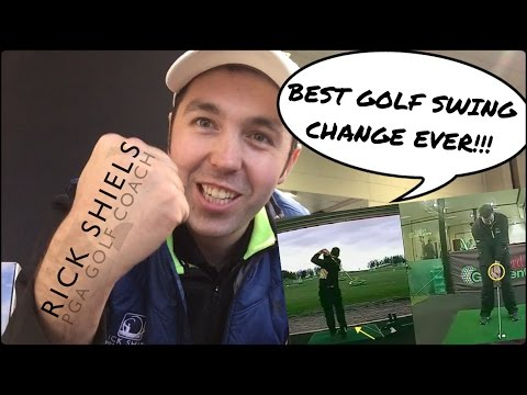 BEST GOLF SWING CHANGE EVER!