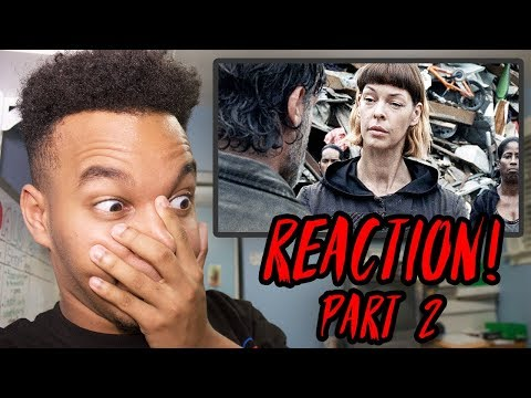 """The Walking Dead Season 8 Episode 6 """"The King, the Widow, and Rick"""" REACTION! (Part 2)"""