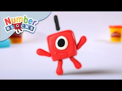 Numberblocks - Number One | Play-Doh