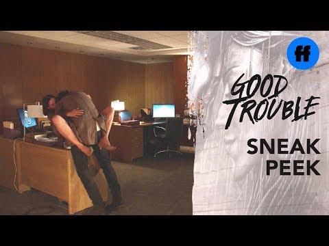 Good Trouble Season 2, Episode 2 | Sneak Peek: Hooking Up at Work | Freeform