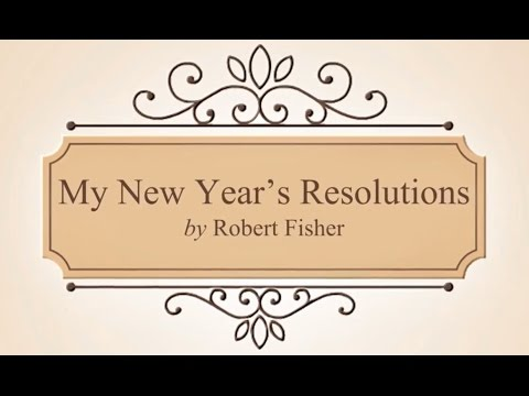 My New Year's Resolution by Robert Fisher | Animated Poem | Poem #4