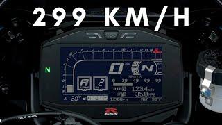 3. Suzuki GSX-R 1000 2019 TOP speed + 299 +