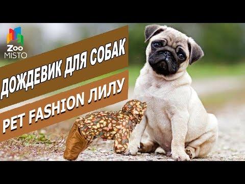 Дождевик для собак - Лилу