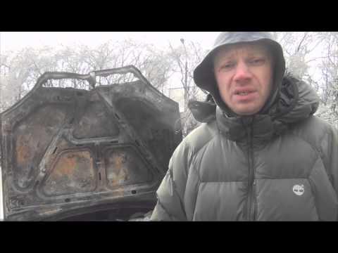 жгут  и бьют машина одеского майдана события 23.01.2014 (видео)