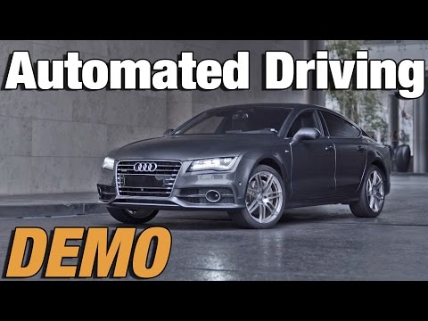 audi's automated driving for parking