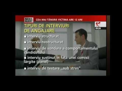 Comportamentul la interviul de angajare [partea 2]