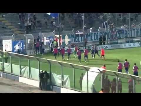 Il gran gol di Antezza contro la Racing Roma: vai Como….
