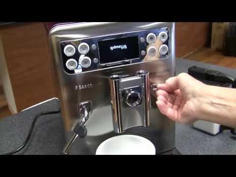 Crew Review: Saeco Exprelia Evo Superautomatic Espresso Machine
