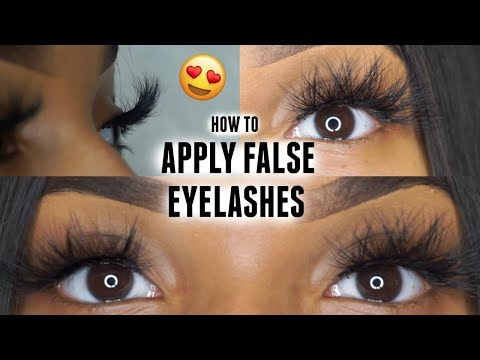 How to Apply Strip Lashes Quick & Easy   BEGINNER FRIENDLY ♡