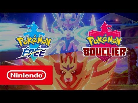 Bande-annonce de présentation avant la sortie de Pokémon Bouclier