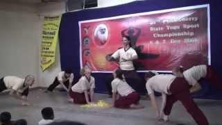 Shiva Lingam Dance - Ananda Ashram / ICYER
