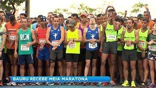Atletas de várias regiões do país participam da 5ª Meia Maratona de Bauru