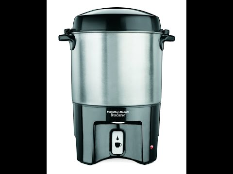 Review:  Hamilton Beach 40540 Brew Station 40-Cup Coffee Urn, Silver