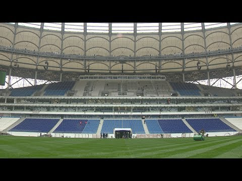 Как строился стадион «Волгоград Арена». 23.04.18.