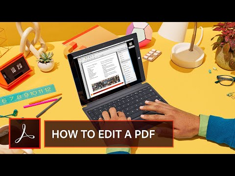 Getting Started:  The Basics Of Editing A PDF Document