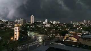 Time Lapse chuva em São José dos Campos/sp