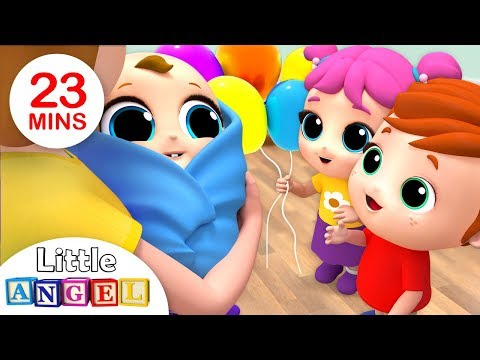 Welcome Home, Baby Brother! | Nursery Rhymes by Little Angel - Thời lượng: 23 phút.