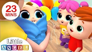 Video Welcome Home, Baby Brother! | Nursery Rhymes by Little Angel MP3, 3GP, MP4, WEBM, AVI, FLV Februari 2019