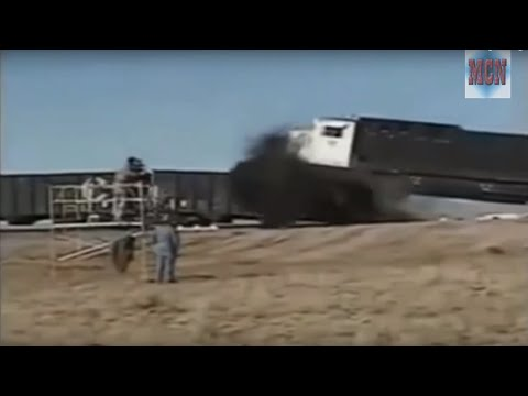 Train Crash Test Compilation (Slow Play)