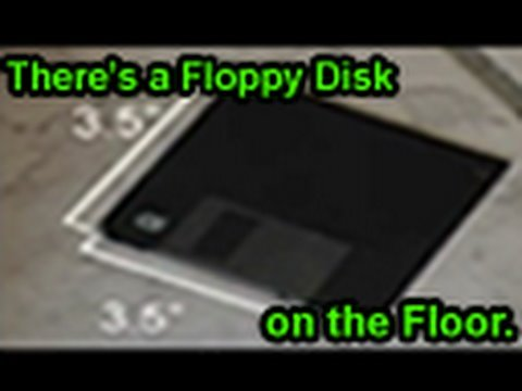 There\'s a Floppy Disk on the Floor (Original Song)