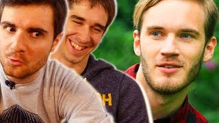 Video DES YOUTUBERS RÉAGISSENT À PEWDIEPIE ! MP3, 3GP, MP4, WEBM, AVI, FLV Oktober 2017