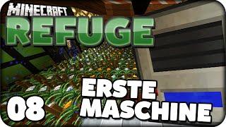 AUTOMATISIERUNG IST ANGESAGT! - Minecraft REFUGE #08 [Deutsch]   Zinus