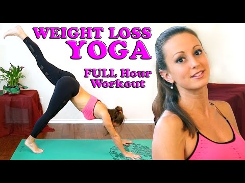 Weight Loss Yoga For Beginners. Full Body At Home 1 Hour Workout & Yoga Class
