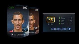 FIFA Online 3 ดีเจบุ้ค +8 ดิมาเรีย 303,300,000 EP., fifa online 3, fo3, video fifa online 3