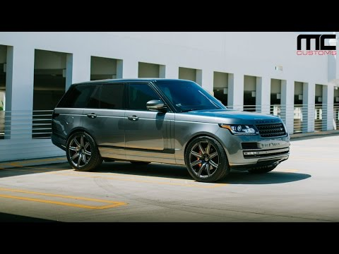 MC Customs | Rennen Wheels · Range Rover