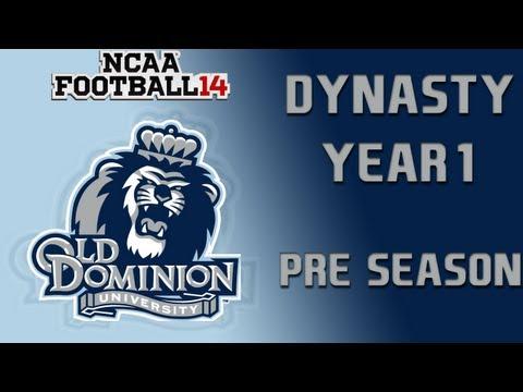 NCAA Football 14 Dynasty - Old Dominion: Episode 1