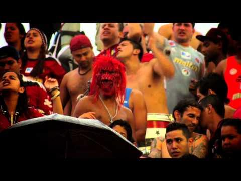BARRA ROJA CARACAS FUTBOL CLUB - Los Demonios Rojos - Caracas