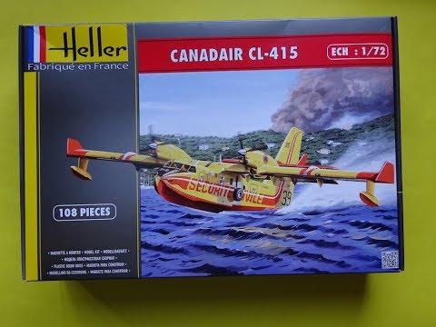 Maquette Heller Canadair CL-415