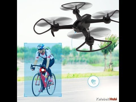 Follow me daily action drone