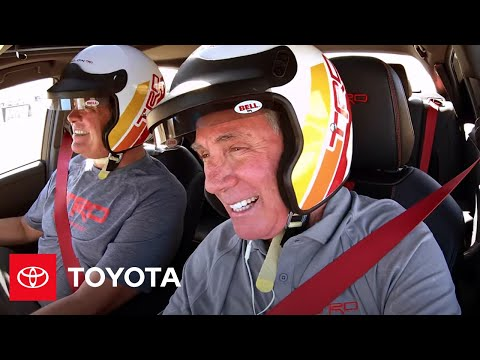 Toyota Avalon TRD With Michael Waltrip & Darrell Waltrip At Sonoma Raceway | Toyota Racing