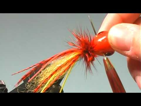 Fire Tiger Bass Popper