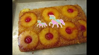 Pineapple upside down cake by Louisiana Cajun Recipes
