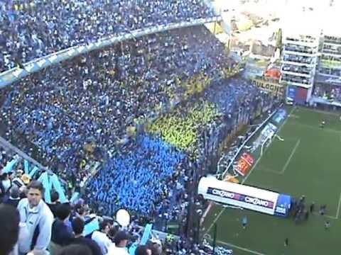 Video - boca river 2013 INGRESA LA 12 Y RECIBIMIENTO.. - La 12 - Boca Juniors - Argentina