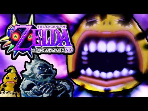 the legend of zelda majora mask wii wad pal