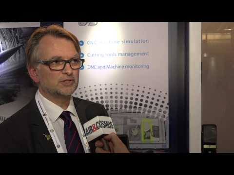 Interview de Gilles Battier, pdg de Spring Technologies.  © Aero3A