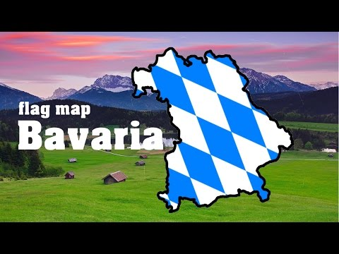 FLAG MAP SPEEDART #4 - Bavaria